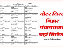 bihar-voter-list-panchayat