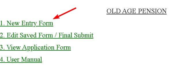 UP Old Pension Age Scheme